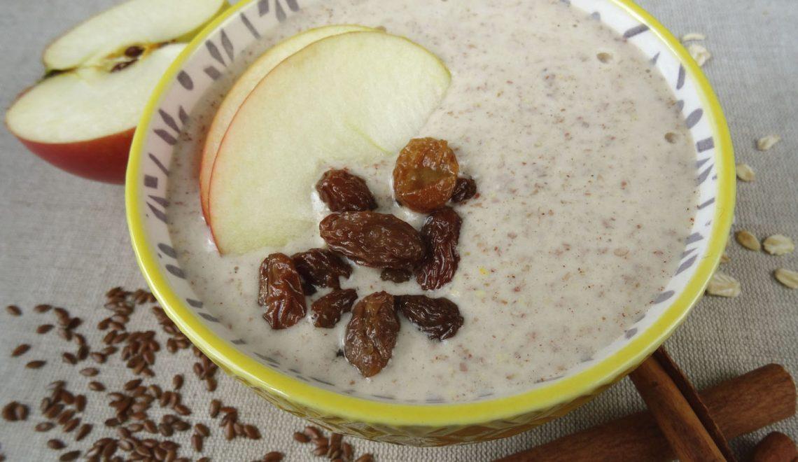 Szarlotkowa smoothie bowl