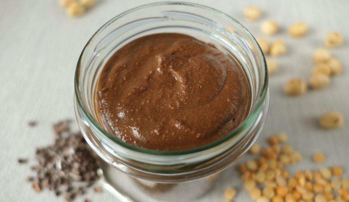 Krem czekoladowy z… grochu